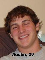 Austin, age 20, UW Madison Sophomore