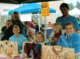 (left to right) Emma, Kathy, Evelyn, Grandma, Madaline, Rosalind, Adam and me.