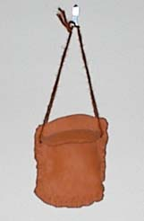 'Ch-ching!' That's the sound of the money I save landing in this clay purse!