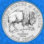 The 2005 nickel back: American Bison.