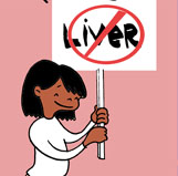 Do they dare serve liver in your school?