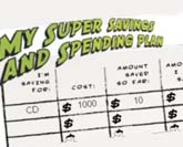 My Super Savings and Spending Calculator