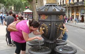 Legend says if you drink from this fountain, you'll always return. Worked for me: this was my second visit to this beautiful city.